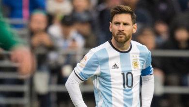 Leo Messi besviken