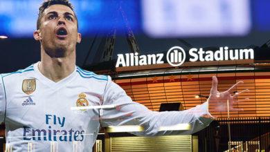 Cristiano Ronaldo är nära Juventus