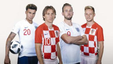 Kroatien och England möts i semifinal i VM