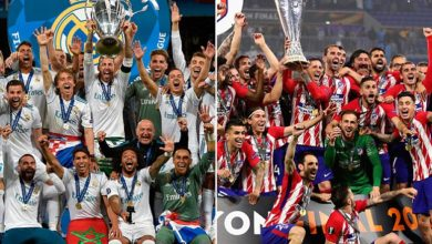 Real Madrid vs Athletico Madrid