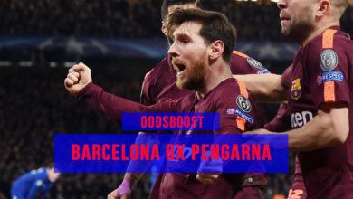 Barcelona oddsboost 6x