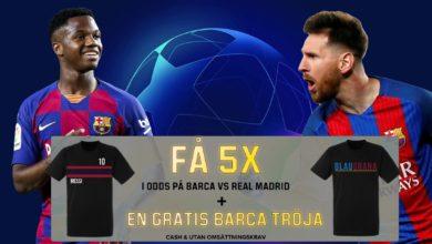Barcelona El Clasico Kampanj