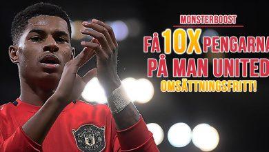 Manchester United kampanj Marcus Rashford 10x pengarna