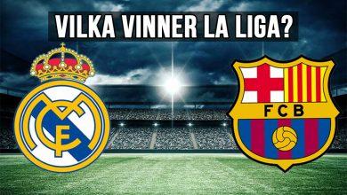 vilka vinner la liga real madrid barcelona