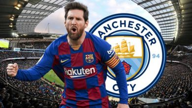 Lionel Messi i Manchester City